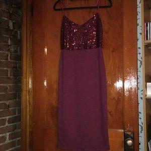 ASOS Midi Dress with Sequin Top